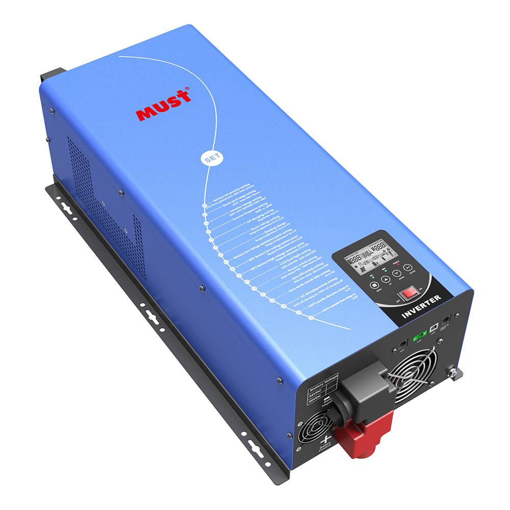 PV3300 TLV Inversor Solar Fase Partida Baja Frecuencia Bifásico (1-6KW)